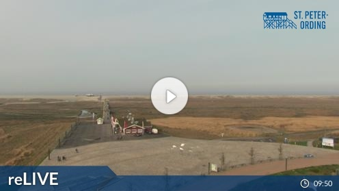 St.Peter-Ording Erlebnis Promenade Webcam Live