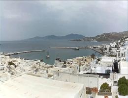 Mykonos – Hafen Webcam Live