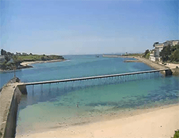 Audierne La Passerelle Webcam Live
