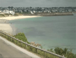 Audierne La grande plage Webcam Live