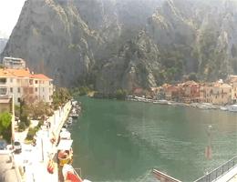 Omiš – Cetina Canyon Webcam Live