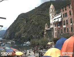 Vernazza – Hafen und Bucht Webcam Live