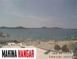 Vodice – Makina Hangar Webcam Live