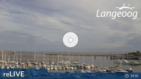 Langeoog – Sportboothafen Langeoog Webcam Live