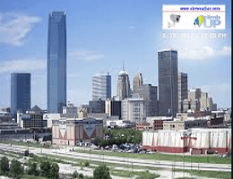 Oklahoma City Downtown Skyline Webcam Live