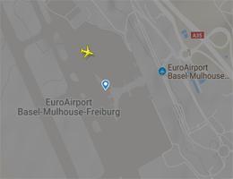 Flughafen Basel-Mülhausen Flugverfolgung live