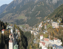 Bad Gastein Panorama Webcam Live