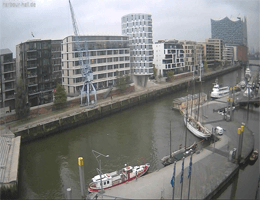 Hamburg – HafenCity Harbour Hall Webcam Live