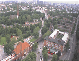 Hamburg – Mundsburg Tower Webcam Live