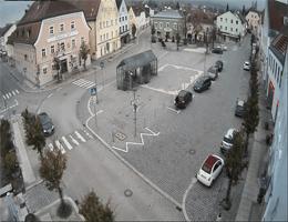 Hengersberg Marktplatz Webcam Live