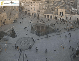 Matera Piazza Vittorio Veneto Webcam Live