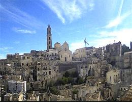 Matera Sasso Barisano Webcam Live