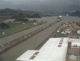 Panama City – Panama Canal Webcam Live