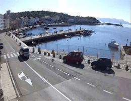 Senj – Hafen Webcam Live