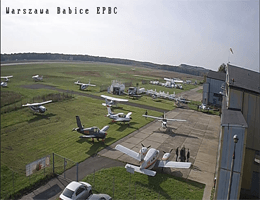 Warschau Aeroklub Warszawski Webcam Live