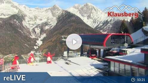 Ahrntal – Bergstation Kabinenbahn Klausberg Webcam Live