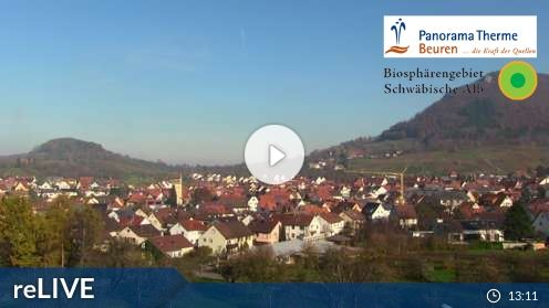Beuren Panorama Therme Webcam Live