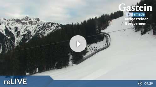 Dorfgastein – Gipfelexpress Talstation Webcam Live