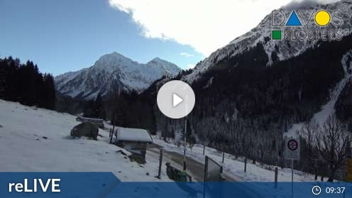 Klosters-Serneus – Monbiel Parkplatz Webcam Live