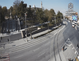 Konya – Alaaddin Hill Webcam Live