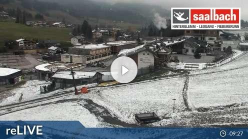 Leogang – Talstation Asitzbahn Webcam Live