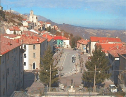 Pescopennataro – Panoramablick Webcam Live