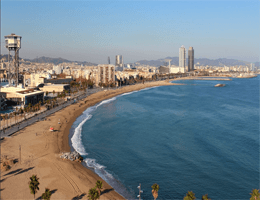 Barcelona – Panoramablick Webcam Live