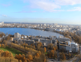 Hamburg – Panoramablick Webcam Live