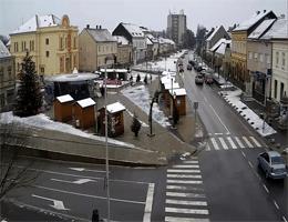 Križevci – Hauptplatz Webcam Live