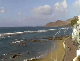 Las Palmas de Gran Canaria – Playa De Las Canteras Webcam Live