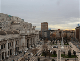 Mailand – Bahnhof Milano Centrale Webcam Live