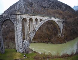 Nova Gorica – Solkan Bridge Webcam Live