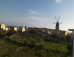 Qala – Gozo Windmill Webcam Live
