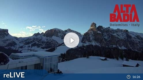 Corvara Piz Arlara Webcam Live