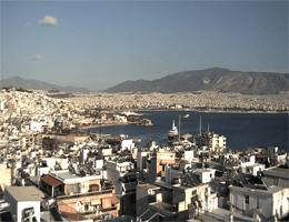 Piraeus Harbour Webcam Live