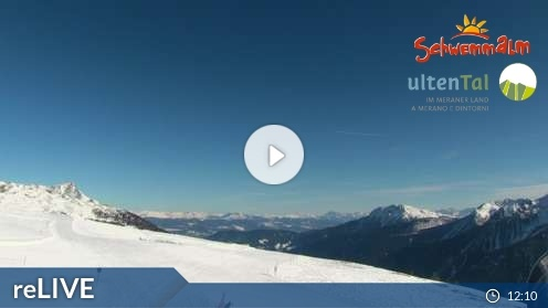 Ulten – Bergstation Umlaufbahn Schwemmalm Webcam Live