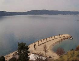 Split – Kašjuni Beach Webcam Live
