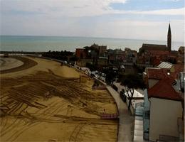 Caorle Levante Strand webcam Live