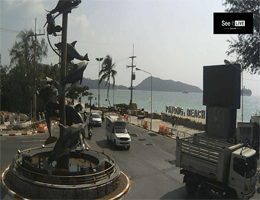 Patong Beach – Dolphin Circle Webcam Live