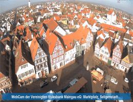 Seligenstadt Marktplatz Webcam Live