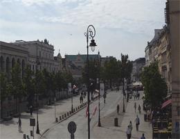 Warschau Krakowskie Przedmieście Webcam Live