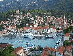 Jelsa (Hvar) – Panorama Webcam Live