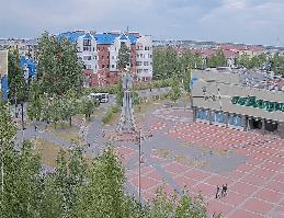 Beloyarsky – Zentralplatz Webcam Live