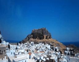 Lindos (Rhodos) – Akropolis Webcam Live