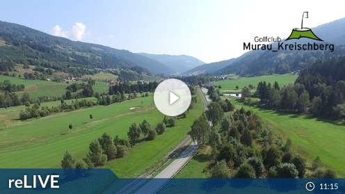 Murau – Golfplatz Webcam Live