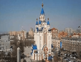 Khabarovsk – Uspensky Cathedral Webcam Live