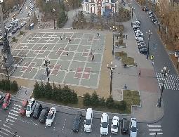Khabarovsk Komsomolskaya Square Webcam Live