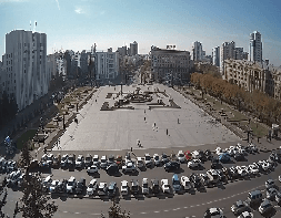 Khabarovsk Lenin Square Webcam Live