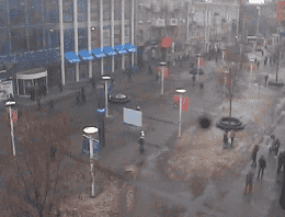 Dnipro European Square Webcam Live