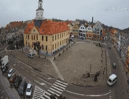 Trzebiatów Marktplatz Webcam Live